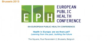 PhD student Elaine Fuertes wins best abstract award at 6th European Public Health Conference