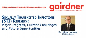 2013 Canada Gairdner Global Health Award Lecture