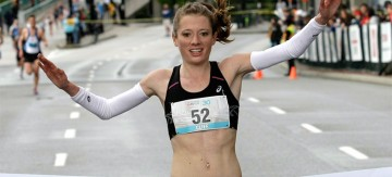MSc OEH student Rachel Cliff wins 2014 Vancouver Sun Run