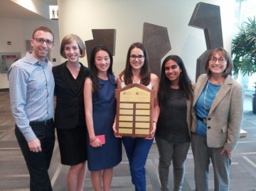 MPH students win CES Student Case Competition