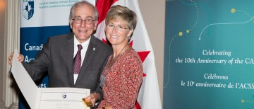 Dr. Shoveller inducted as Fellow of the Canadian Academy of Health Sciences