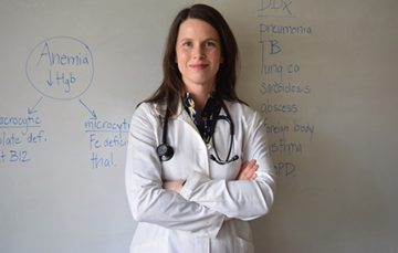 Meet Our Students: Dr. Martina Scholtens, Resident and MPH student