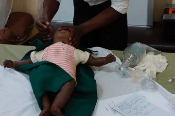 Student Research: Evaluating a new way to improve care for newborns and children in Rwanda