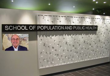 Peter Berman appointed Director, School of Population and Public Health