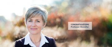 Congratulations to SPPH Professor Shoveller on her new role