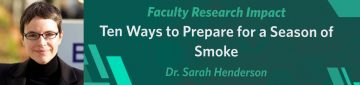 Prepare for the Worst: 10 Steps to get Ready for Wildfire Smoke